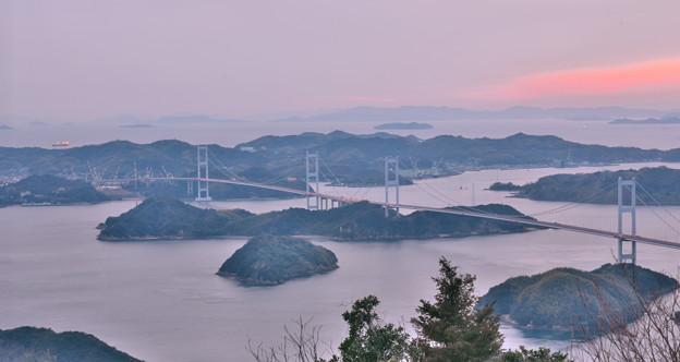 Photos: 亀老山にて