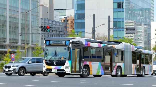 臨海地域と都心部とを結ぶバス…東京BRT(1)
