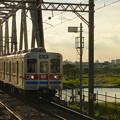 京成国府台駅ホーム 2012.8.3