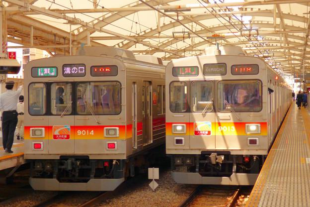 初めての大井町線…旗の台駅