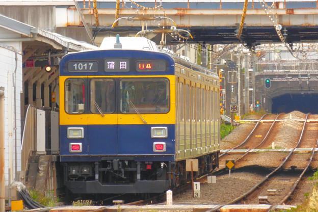 Photos: 東急旗の台駅池上線ホーム 2018.11.24
