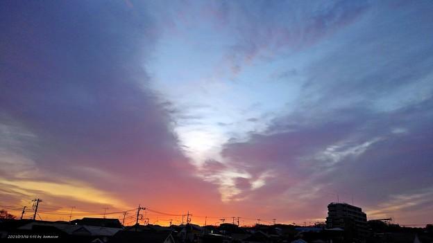 朝焼け(210316)