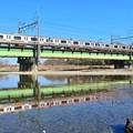 Photos: 穏やかな春の川面