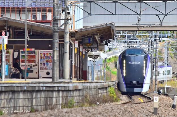 Photos: 通過駅