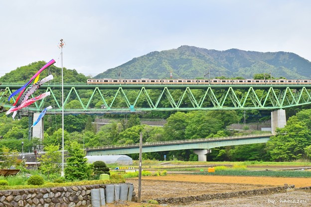Photos: 新緑の山郷