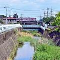 Photos: 川面の空