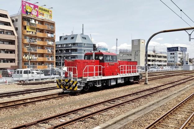 ハイブリッド機関車