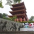 Photos: 五重塔の二人