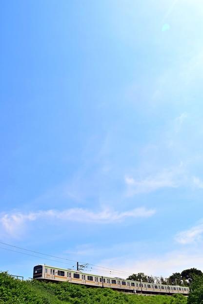 青空の東京ローカル