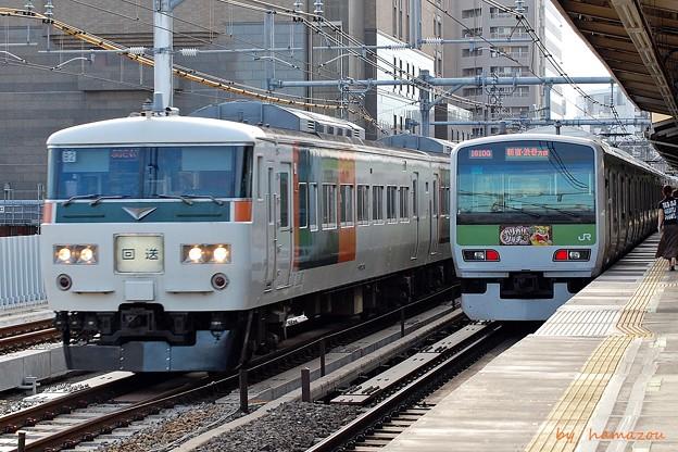 「ガリガリ君」電車