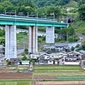 里山の鉄橋