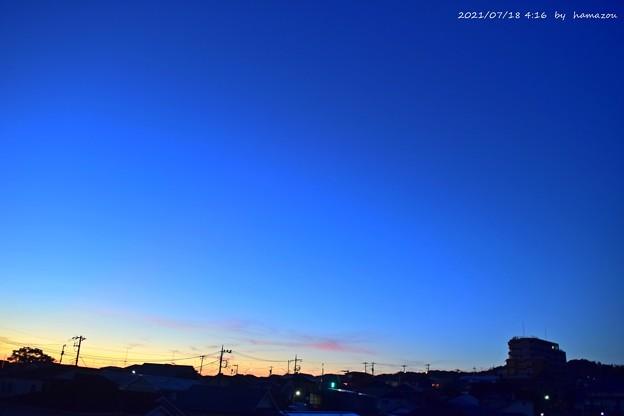 朝焼け(210718)