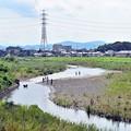 Photos: 鉄塔と釣り人