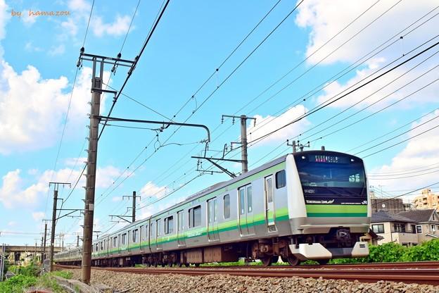 青空の横浜線