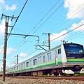 Photos: 青空の横浜線