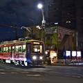Photos: 夜のチン電荒川線