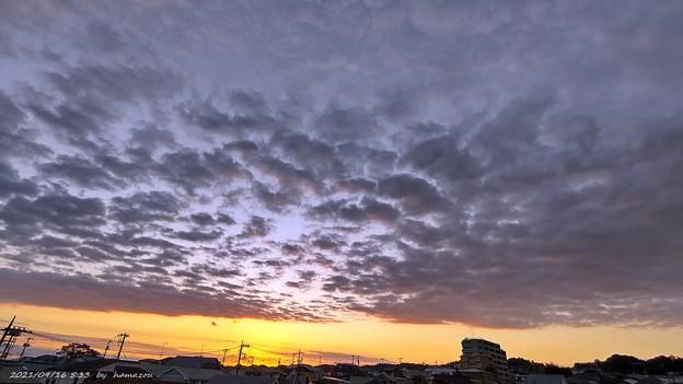 朝焼け(210916)