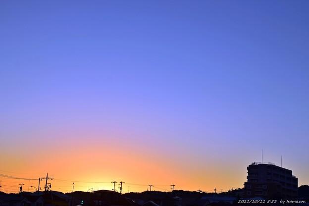 朝焼け(211011)