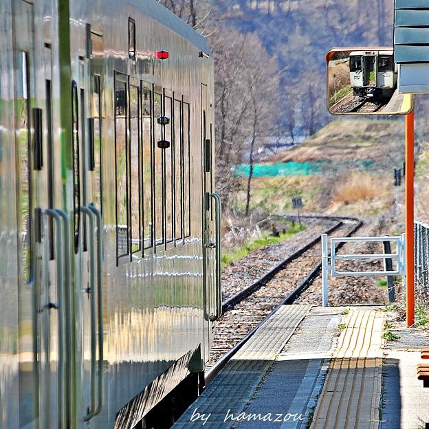 高原の秘境駅