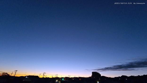 朝焼け(211018)