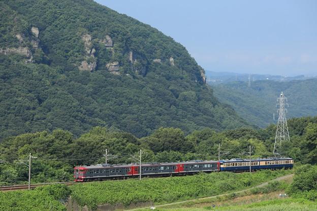 しなの鉄道115系オリジナル色+横須賀色5B@小諸~滋野