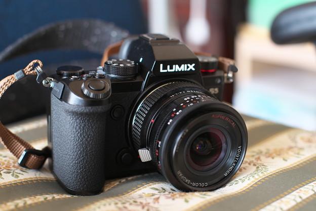 LUMIX S5 + Voigtländer COLOR SKOPAR 20mm F3.5 (K-mount)