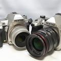 Photos: K-3II Limited Silver & K-3III (Silver)