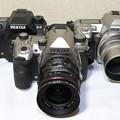 Photos: 歴代K-3