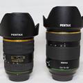 Photos: レンズ大きさ比較「新旧DA★16-50mm」