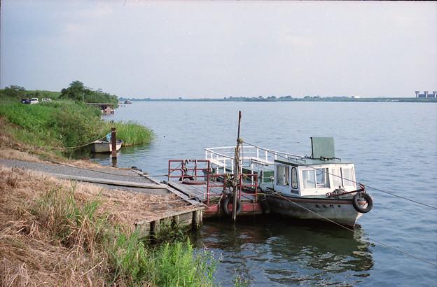 赤岩渡船「千代田丸」
