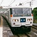 根府川駅に停車中の521M