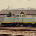 安中駅のスイッチャー(安中運輸DD352)
