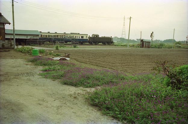 畑とDD502イベント列車