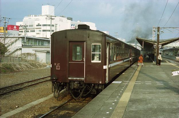 真岡鉄道の50系客車
