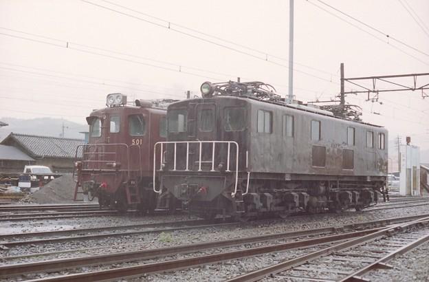 大井川鉄道に帰ってきたED501