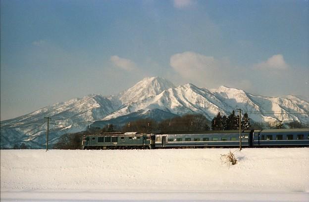 Photos: 妙高山をバックに