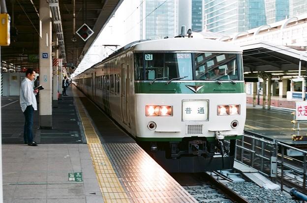 東京駅に入線する521M回送