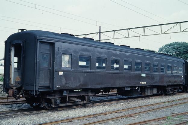 ノーヘッダー試作車(オハ35 2149)