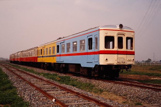 関東鉄道の試験塗装車(関東鉄道常総線キハ754)その1