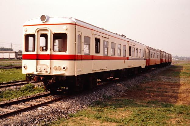 関東鉄道の試験塗装車(関東鉄道常総線キハ754)その2