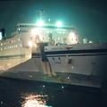 Photos: 晴海ふ頭に接岸直前の太平洋フェリー「きそ」(初代)