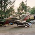 ベトナム戦争証跡博物館のダグラスA-1スカイレイダー