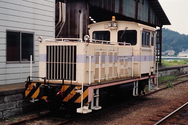 鹿島鉄道の20トン移動機