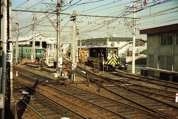 京阪電鉄の電動貨車122号