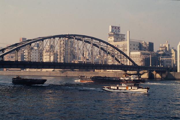 隅田川の朝