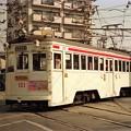 Photos: 阪堺電気軌道モ121