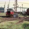 浪花貨物駅のDB254ほか1両
