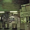Photos: 汐見橋駅にあった沿線案内図