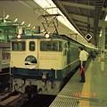 Photos: 東京駅に到着直後の上り「瀬戸」