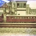 阪神電鉄の救援車153と電動貨車154